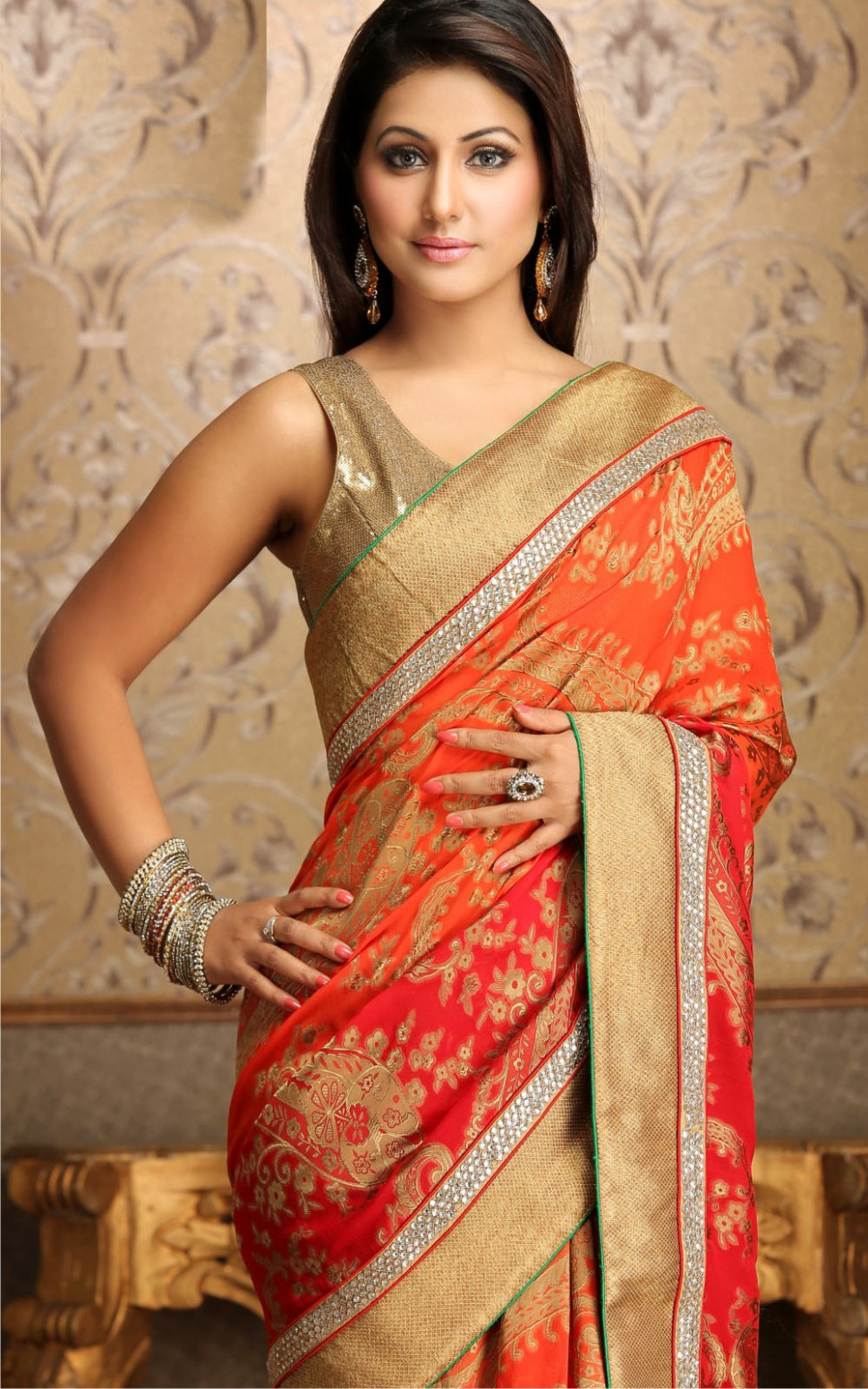 Saree For Girls