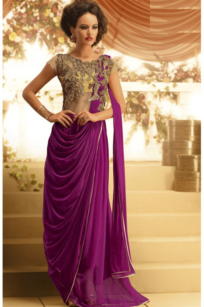 Saree Gown To Impress With Our Event Ideas - Makeup Review