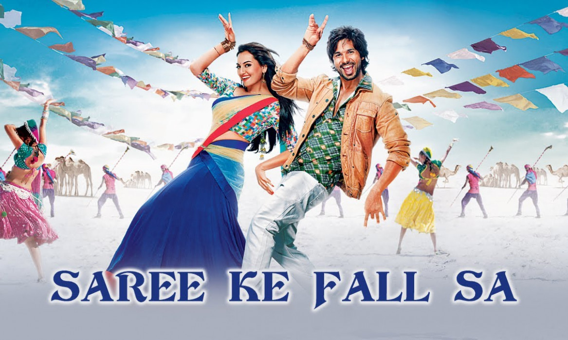 Saree Ke Fall Sa Song ft. Shahid Kapoor & Sonakshi Sinha