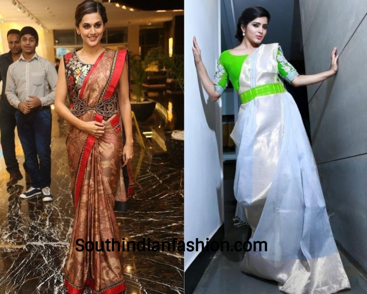 Seven Unique Ways to Wear Saree and Carry It with Elegance!