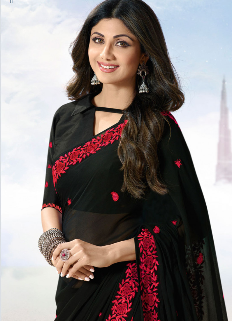 Shilpa Shetty Saree Collection  Indian Wear Fashion Blog