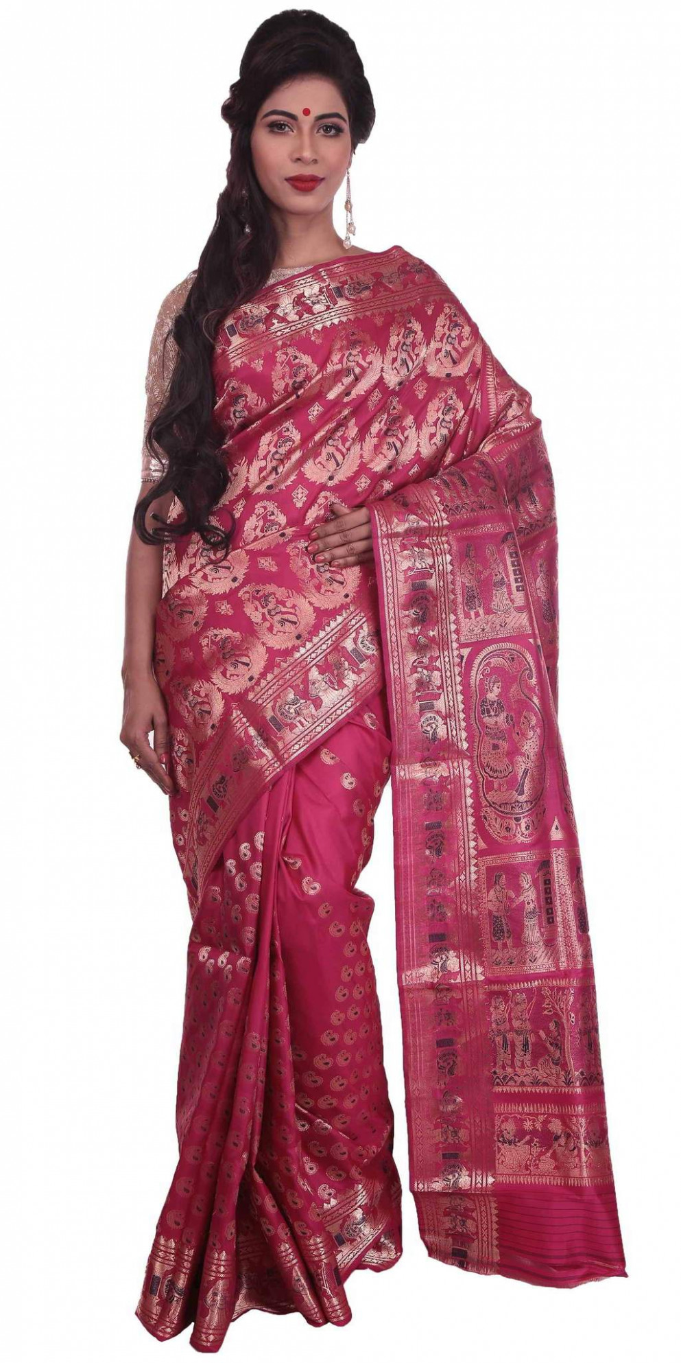 Shop online for exclusive Baluchari silk sarees from