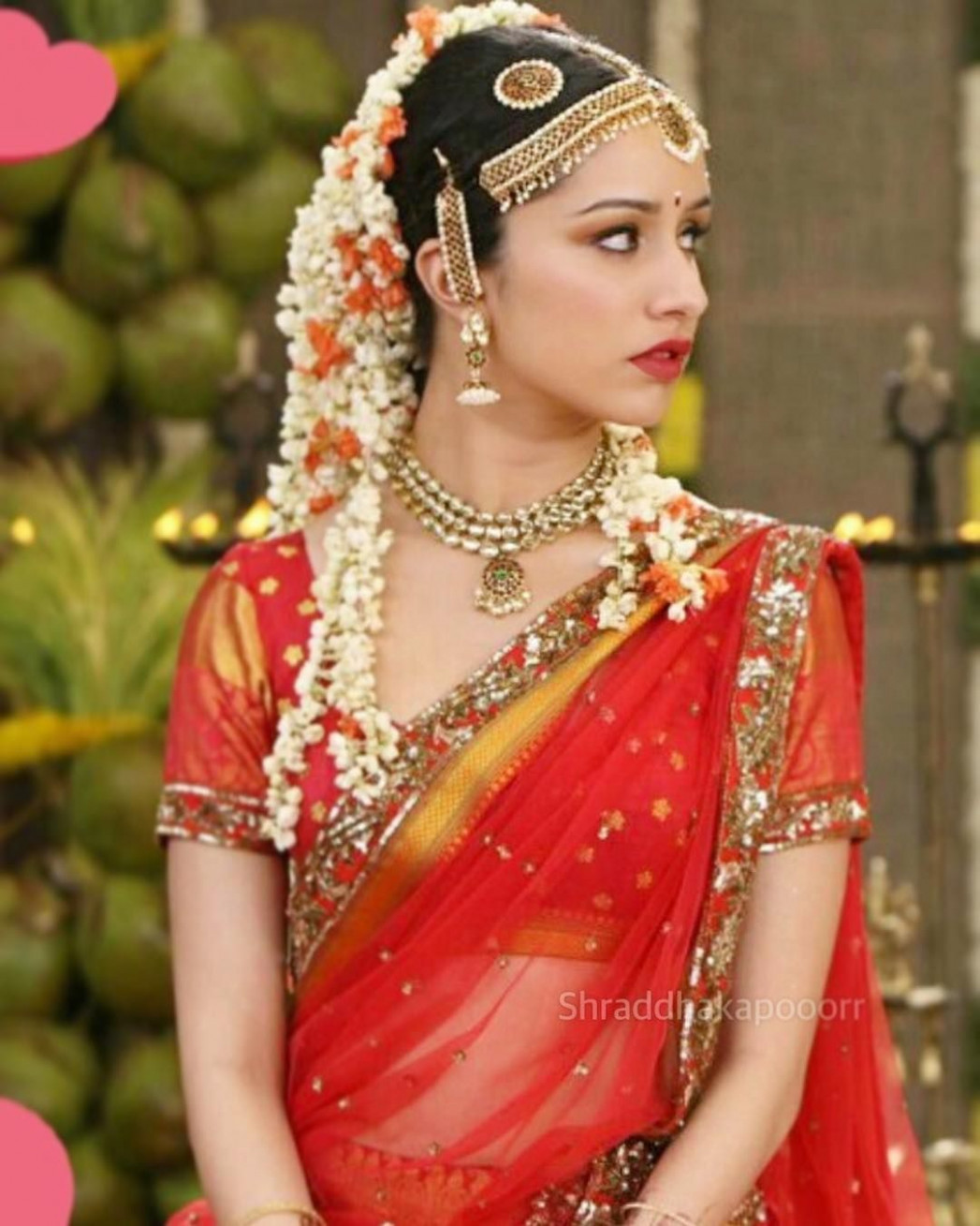 """Shraddha Kapoor Most beautiful bride. 😍"""" (With images"""