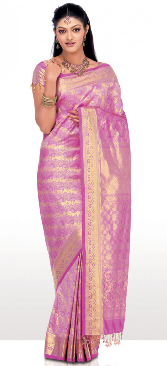 Silk Indian Saree 2012 Latest Collection ~ Ladies Fashion