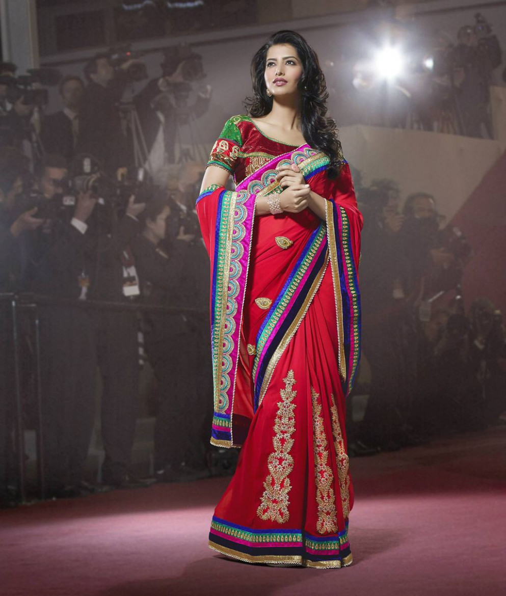 Silk Pallu Saree For Girls - XciteFun.net