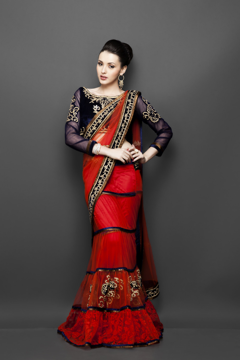 Smart Ways to Wear Sarees and Accentuate Your Body Type  - saree draping