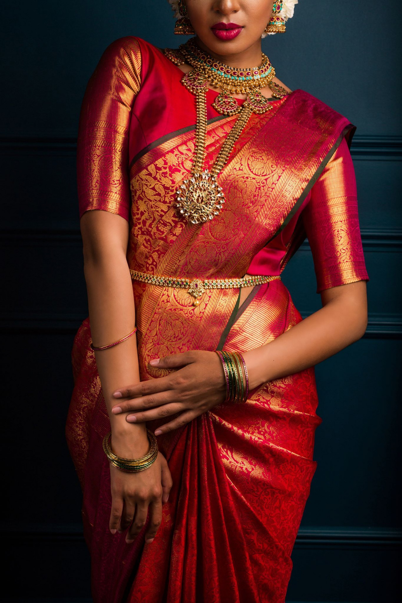 Some Of The Best Looks With Silk Sarees That Keep Making