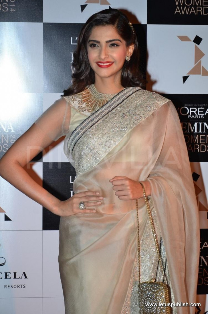 Sonam Kapoor Stylish Looks in Sarees, Suits and Off