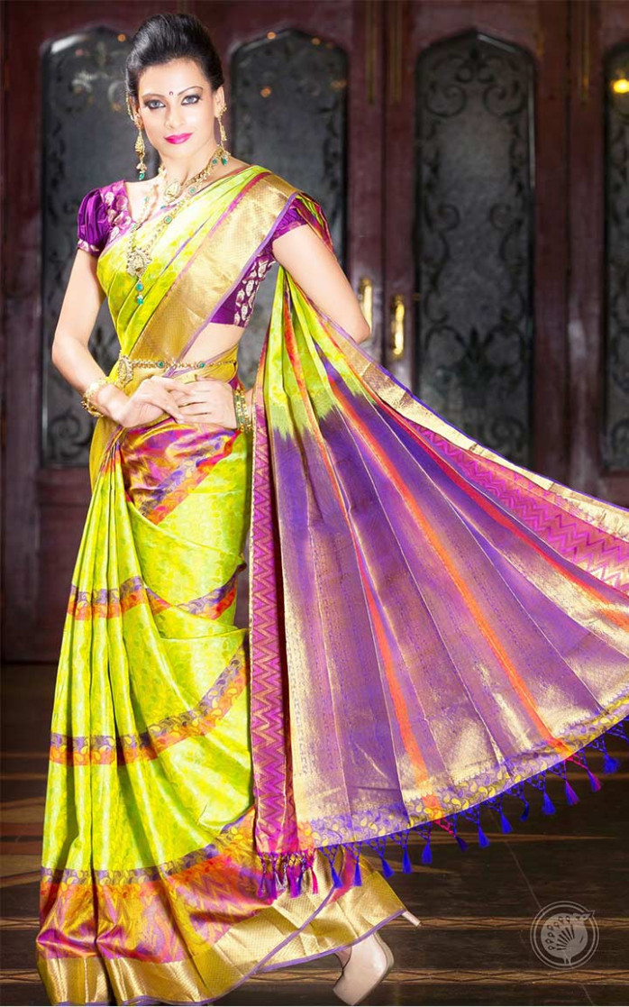 South Indian Bridal Sarees: 10 Stunning Designs Of The Season