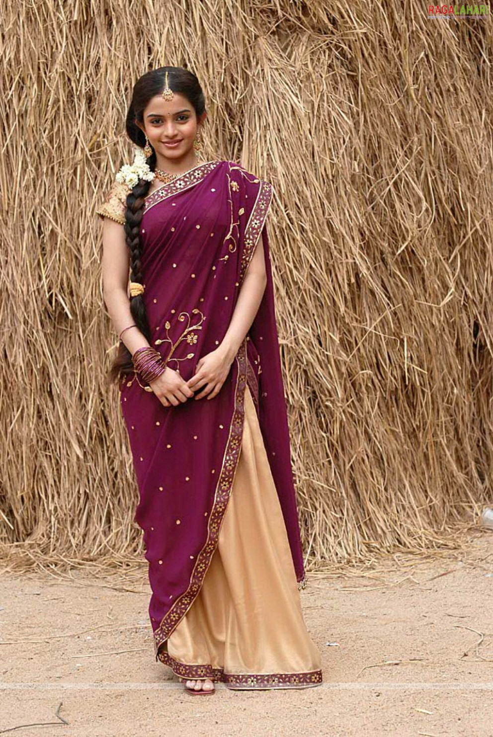 SOUTH INDIAN HALF SAREE: HALF SAREES