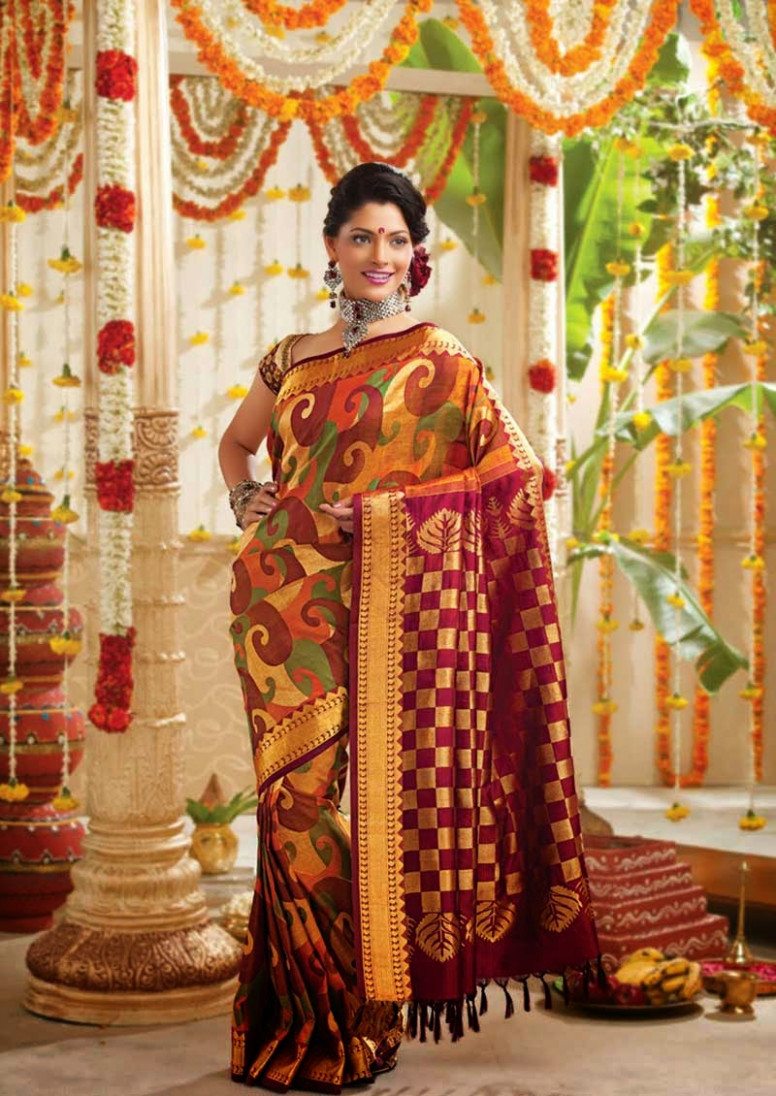 South Indian Wedding Sarees  Sarees Villa