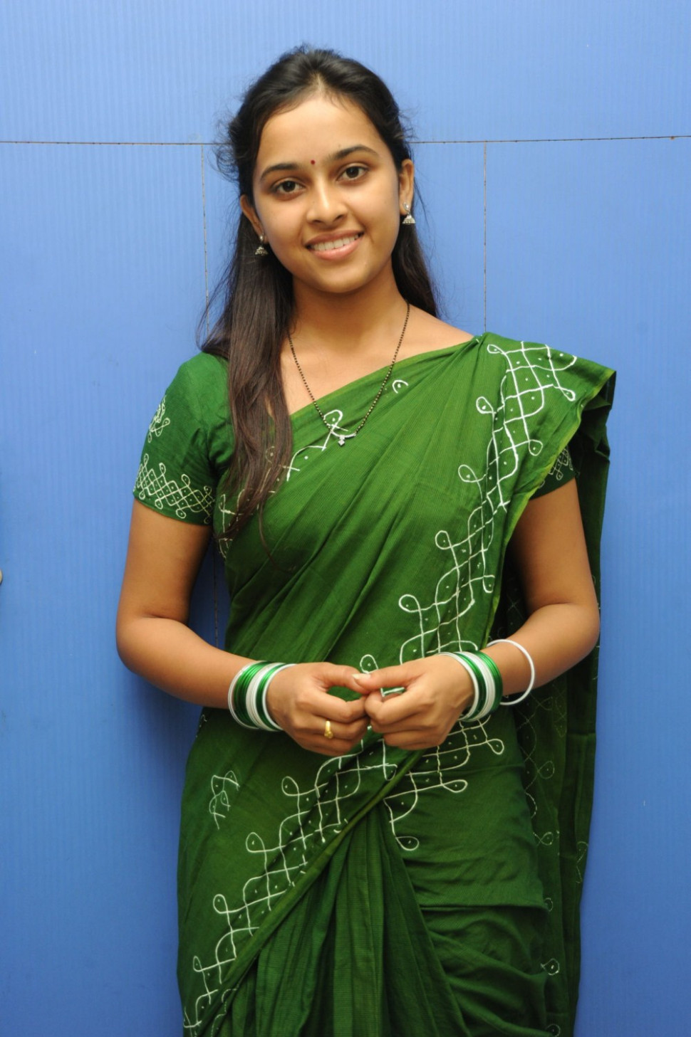 Sree Divya Saree Photos
