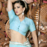 Sunny Leone in Traditional Saree Photoshoot  Connecting