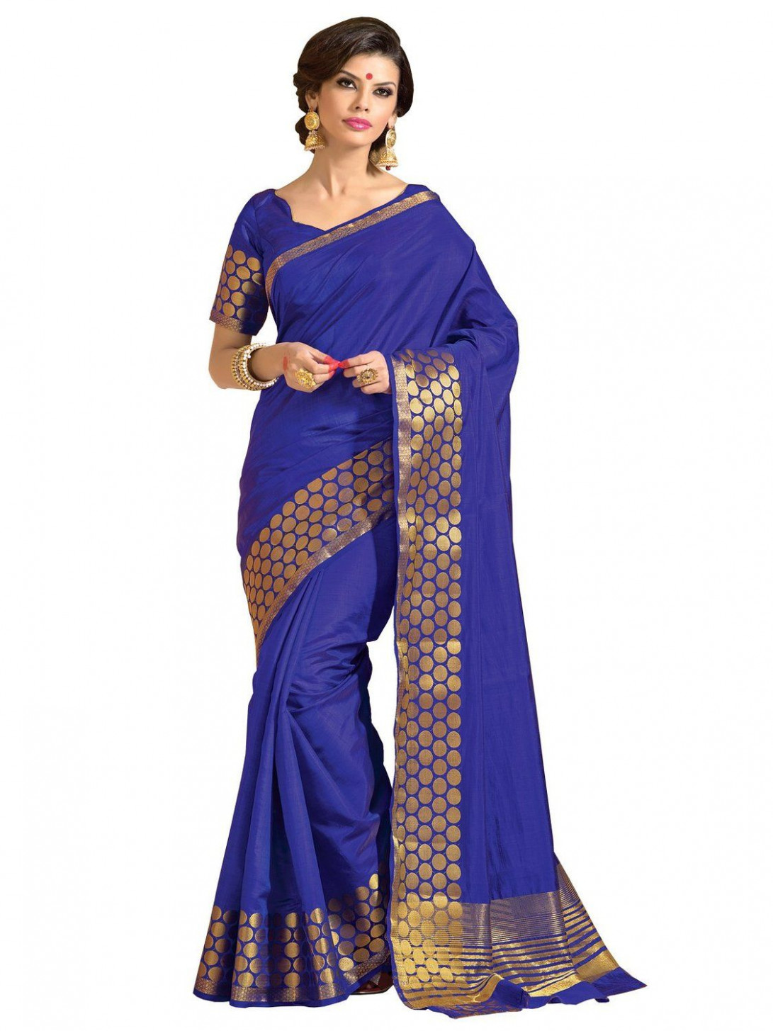 Taanshi Women Tussar Silk Saree With Blouse Pcs [T612