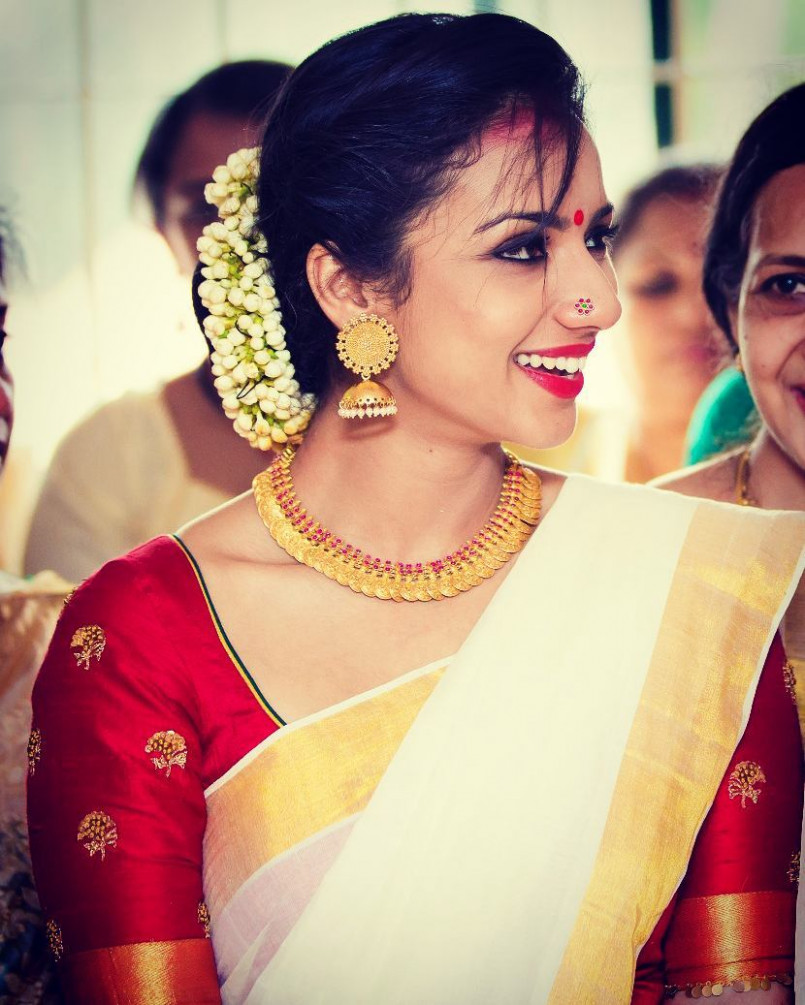 The Best Necklace Designs You Can Wear With Sarees • Keep