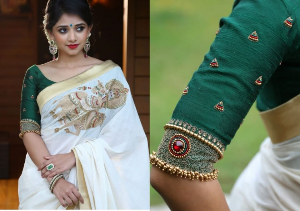 The Most Jaw-Dropping Blouse Ideas For White Sarees