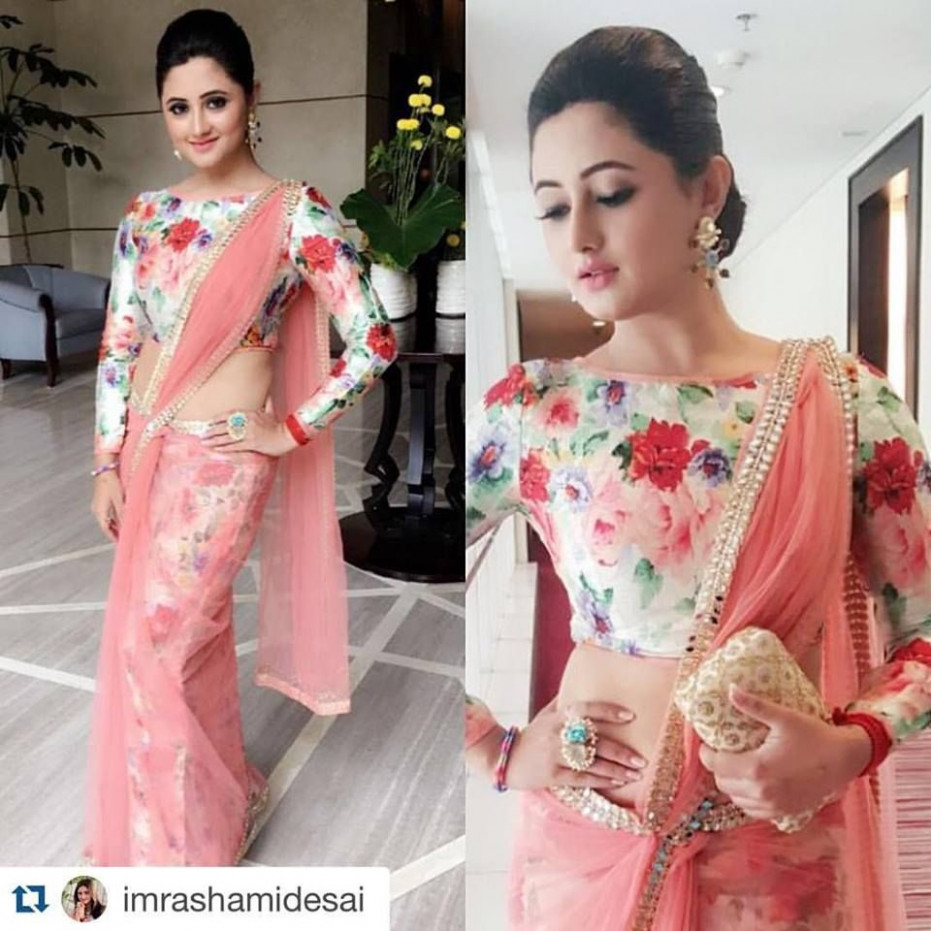 The New Found Love For Floral Blouses  Saree blouse
