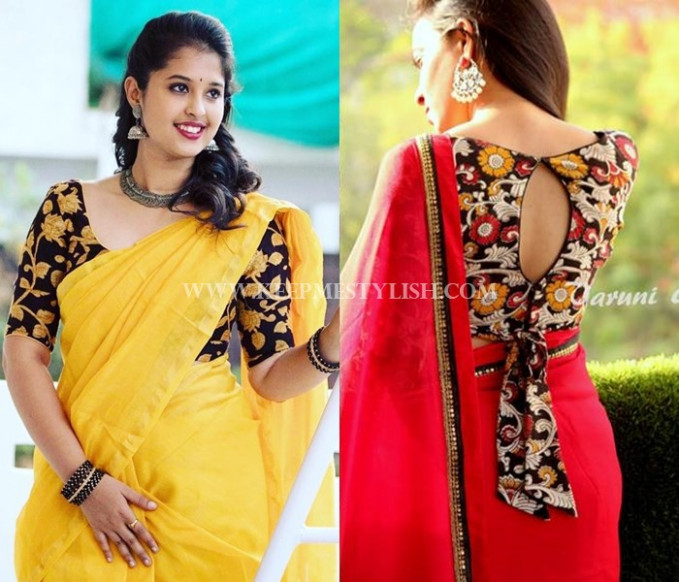 This is Why Floral Blouses Are So Perfect for Any Saree