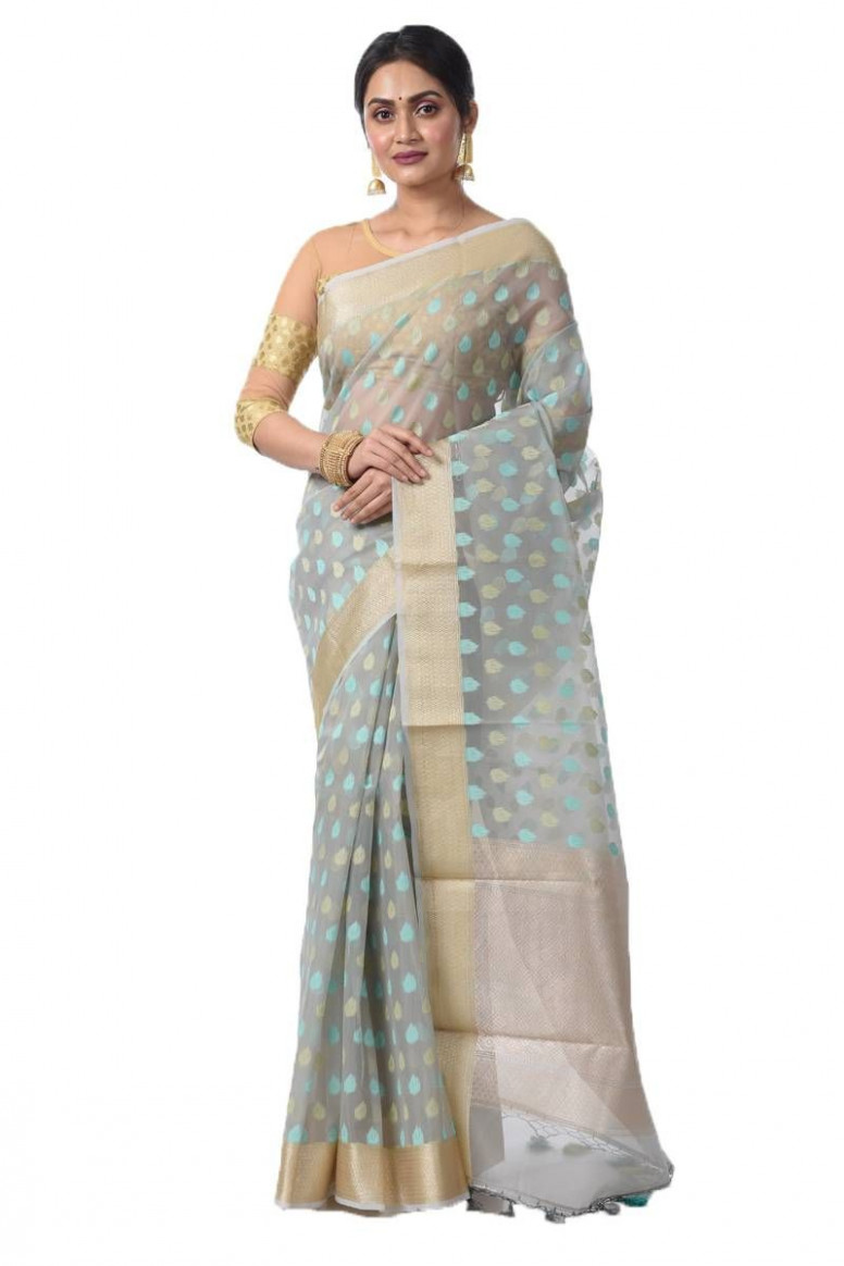 Tissue Silk Saree (adi45098)