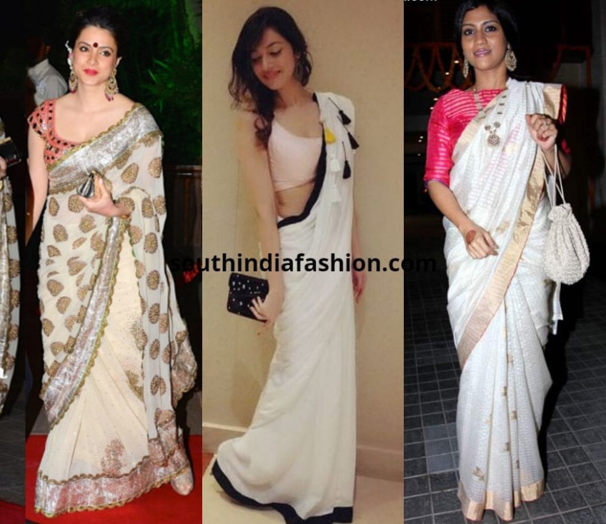 Top 10 Blouse Options to Pair With White Sarees
