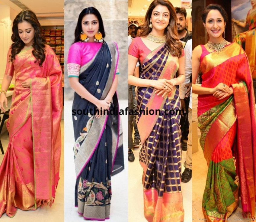Top 15 Silk Sarees Worn By Our Favorite Celebs In 2017