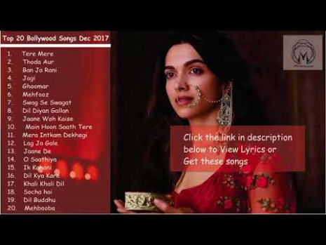 Top 20 New Bollywood Songs Jukebox 2018 - YouTube