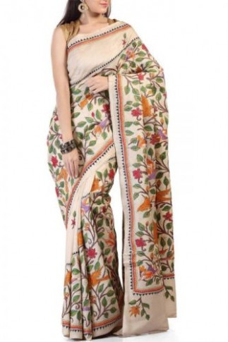 Top 9 Kantha Sarees With Pictures  Styles At Life