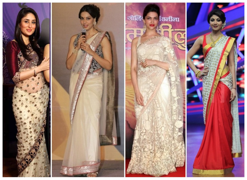 Top Bollywood Celebrities Who Look Beautiful in Saree