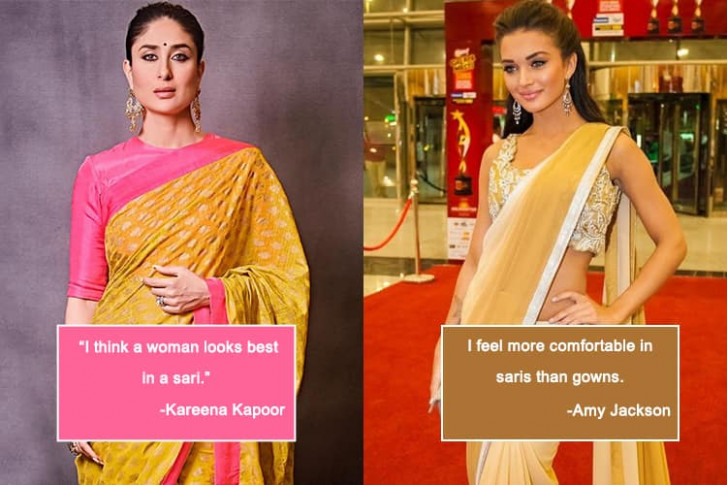 Top Saree Quotes That We Can Relate To!  Indian Fashion