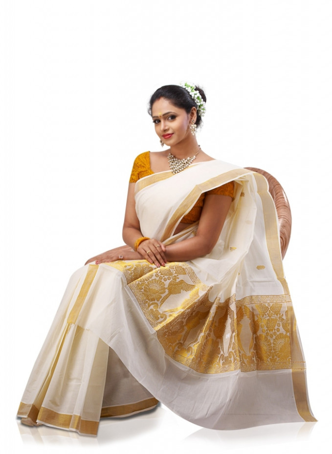 Traditional Kerala Sarees – Classy yet Youthful – India's