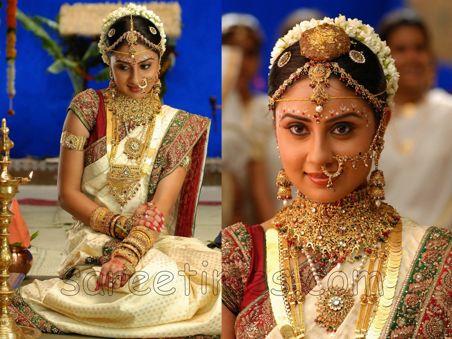 traditional south indian wedding sarees Wedding Pictures