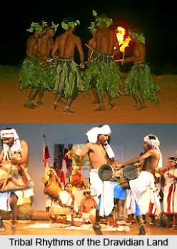 Tribal Dance in Southern India - tribal dances of india