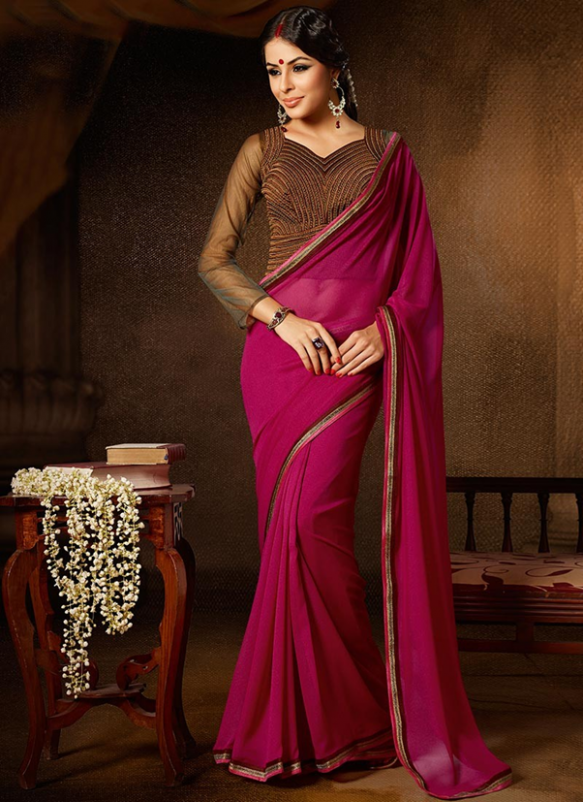 Tricks to look slim in a saree - Style Tips