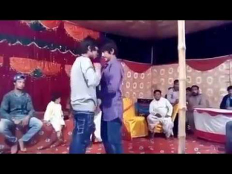 Two Indian guys dancing in function - YouTube