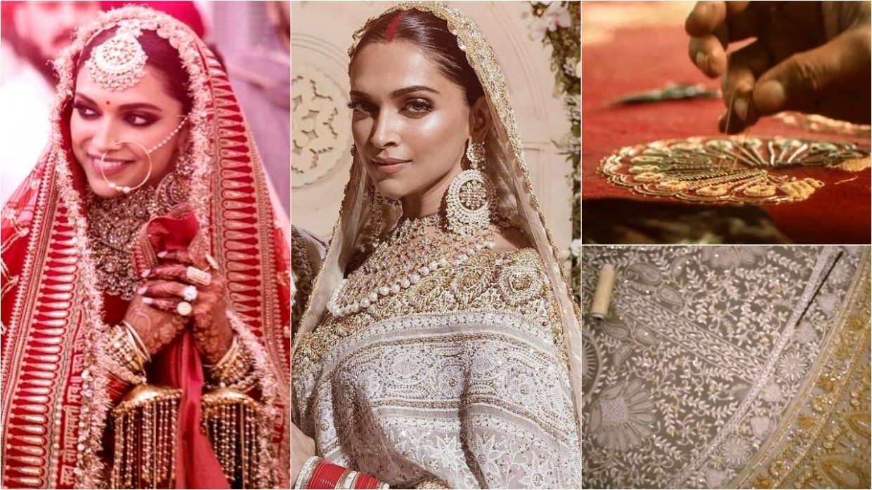 Watch: The making of Deepika Padukone's Sabyasachi bridal