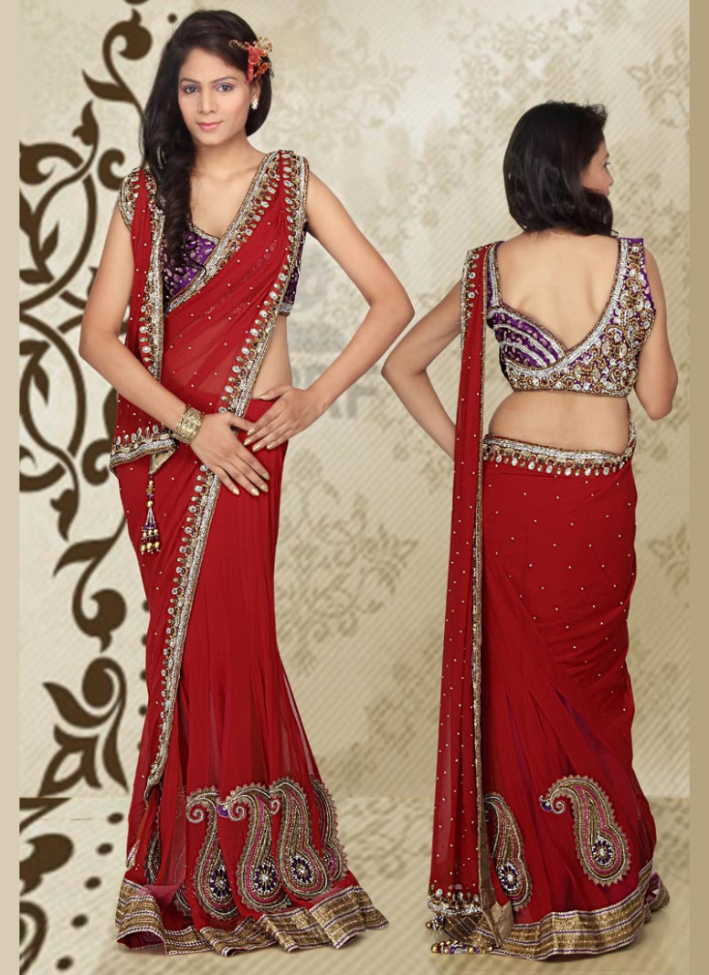 WEARING SAREE IN 5 DIFFERENT STYLES  Stylefortune