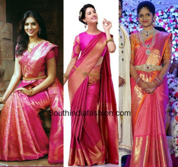 Wedding Trend - Pink Is The New Red!! – South India Fashion