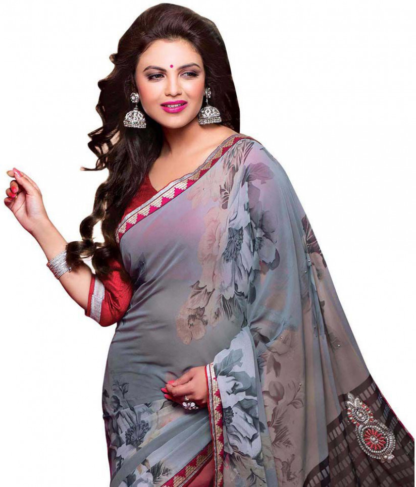 Wholesale Duniya Gray Cotton Saree - Buy Wholesale Duniya