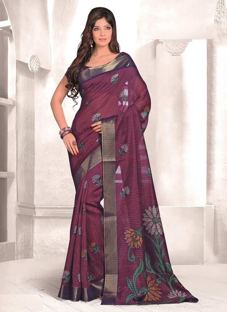 Wine Mysore Udyog Saree