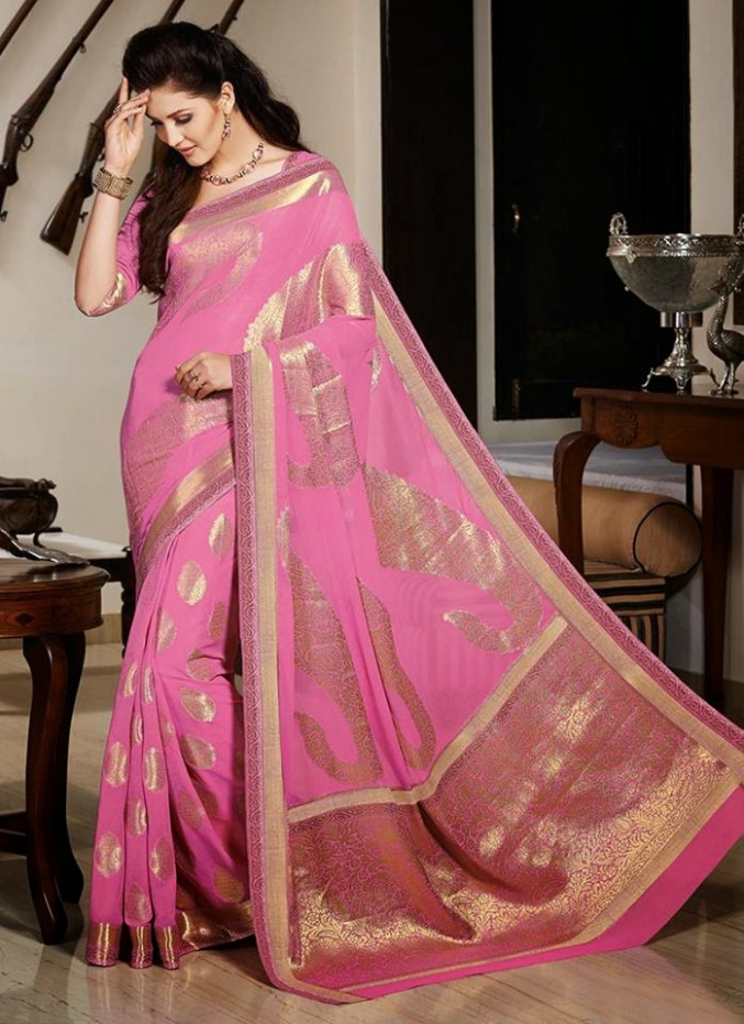 Winter Sarees 2015  Stylish Winter Sarees For Women By