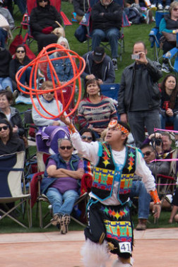 World Championship Hoop Dance Contest – Phoenix, Arizona  - indian hoop dance world champion