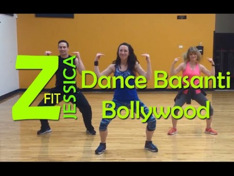 Zumba Dance Basanti - Bollywood - YouTube