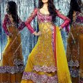 10 best Mehndi Ubtan Mayoon Dresses images on Pinterest ..