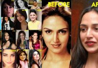 10 Bollywood Celebrities With Worst Plastic Surgeries – bollywood breast makeup