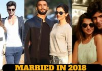10 Indian Celebrity Couple Will Married in 2018 ..