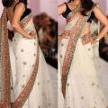 1000  ideas about Net Saree on Pinterest | Georgette ..