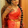 116 best South Indian brides images on Pinterest   Braided ..