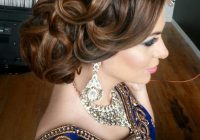 16 Glamorous Indian Wedding Hairstyles – Pretty Designs – indian bridal updo