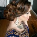 16 Glamorous Indian Wedding Hairstyles – Pretty Designs – indian bridal updo hairstyles