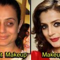 20 Bollywood Actress Who Look Unrecognizable Without ..